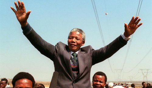 Nelson Mandela Released From Prison