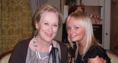 Emma Bunton and Meryl Streep
