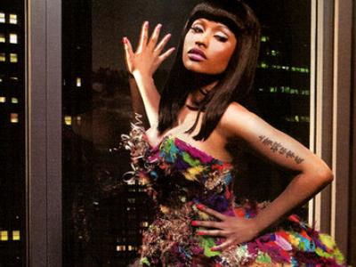 Nicki Minaj in BlackMen SSX tribute magazine