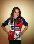 Mel C and Harlequins Shirt