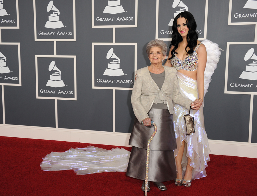 Katy Perry at the Grammy Awards