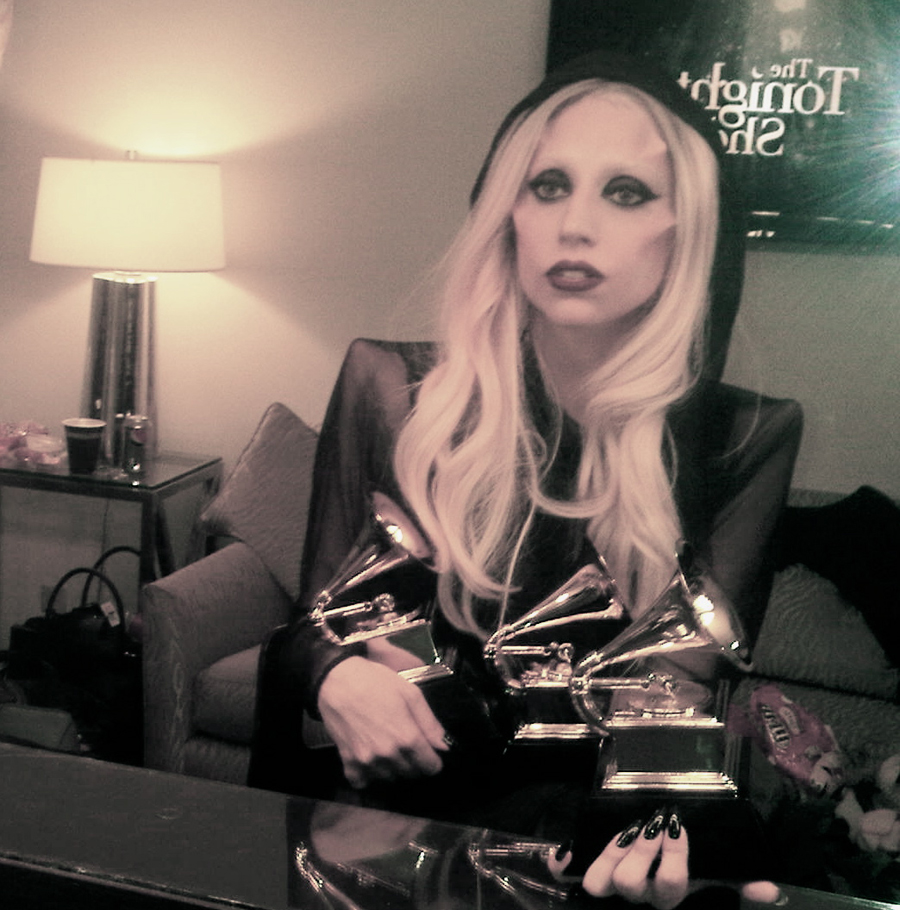 lady gaga with awards