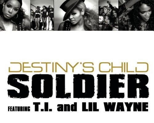 Destiny's Child Soldier Single Cover