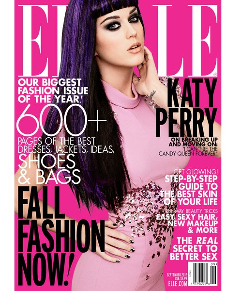 Katy Perry in ELLE USA Magazine
