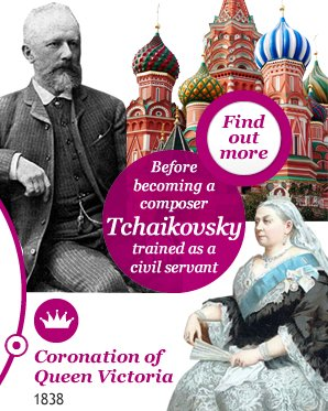 At just four years old Tchaikovsky composed his first song