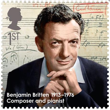 Britten stamp