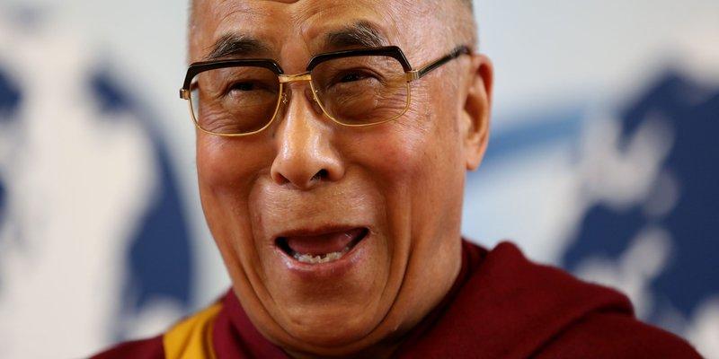 The Dalai Lama In Cambridge