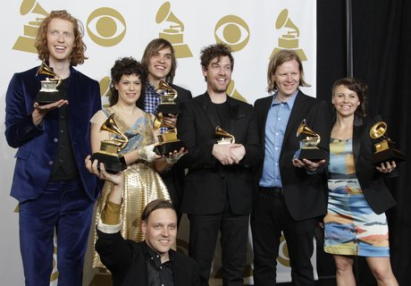 Arcade Fire at the Grammys 2011