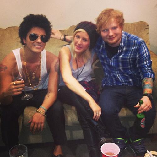 Bruno mars 16 reasons we love the super bowl 2014 star - Ed sheeran give me love live room ...