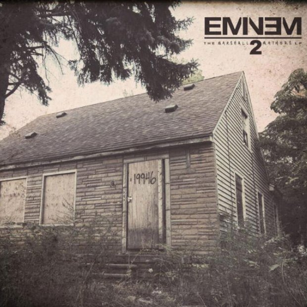 Eminem 'The Marshall Mathers LP2' album artwork
