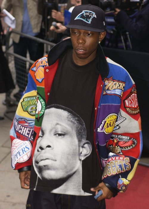 Dizzee Rascal at the Mercury Prize in 2003