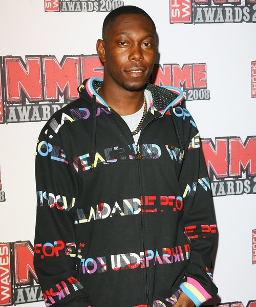 Dizzee Rascal at the NME Awards
