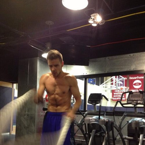 Liam payne working out tumblr
