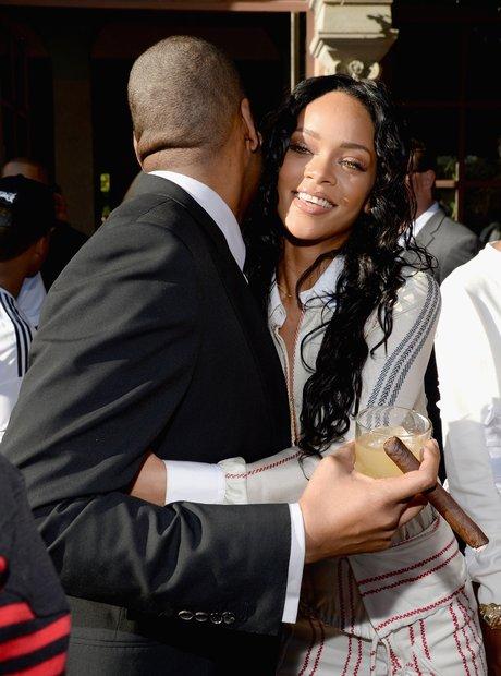 Rihanna and Jay Z Roc Nation Party