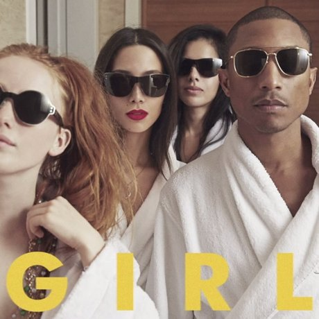 Pharrell Williams GIRL artwork for new album