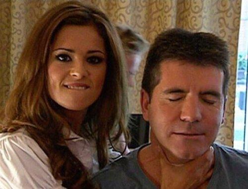 Cheryl and Simon X Factor 2014