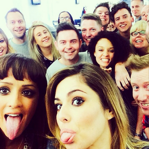 Cheryl Selfie Capital 2014