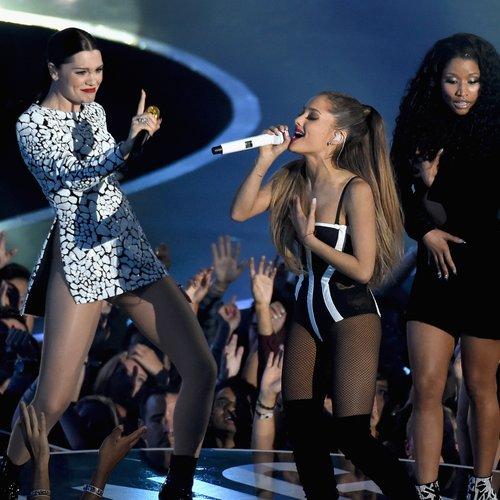 Jessie J Ariana Grande Nicki Minaj VMAs