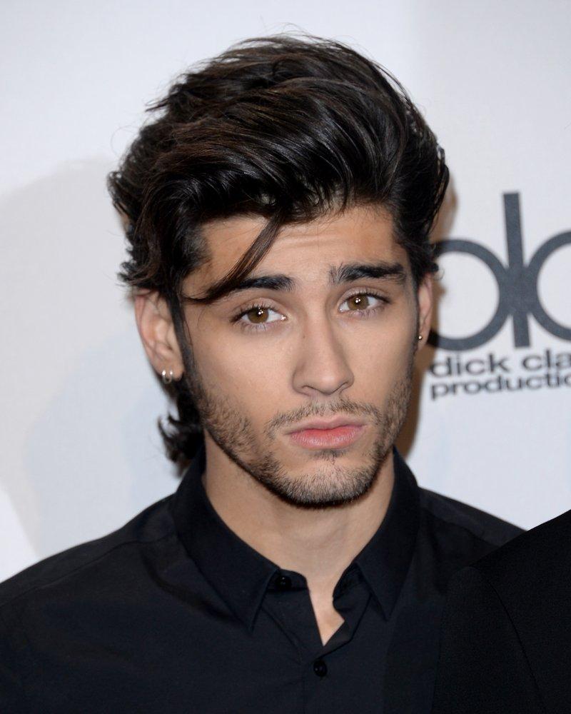 One Direction's Zayn Malik on the red carpet