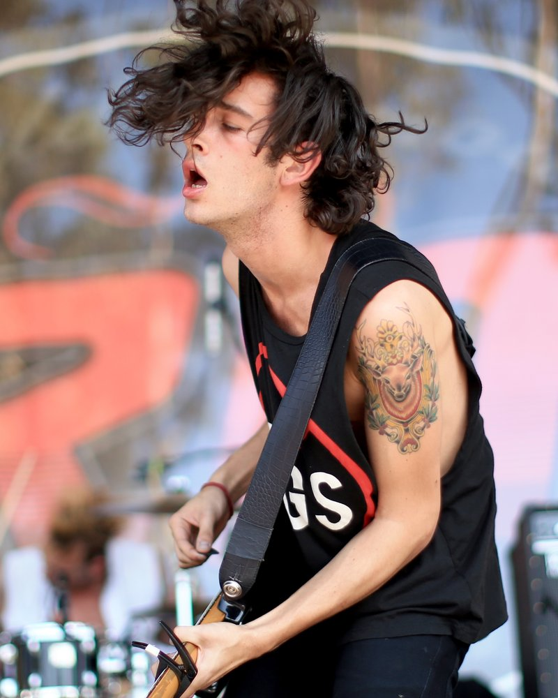 MAtt Healy from The 1975