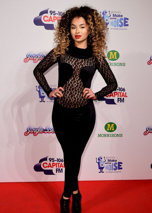 Ella Eyre outfit jingle bell ball 2014