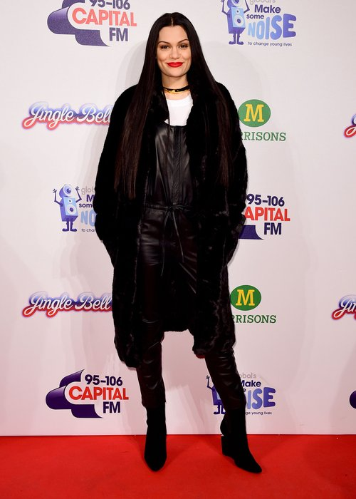 Jessie J jingle bell ball outfit 2014