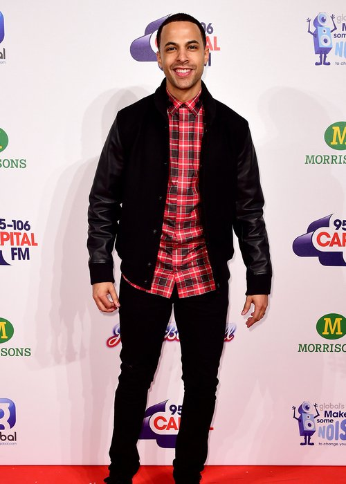 Capital Marvin Humes Red Carpet Jingle Bell Ball 2014
