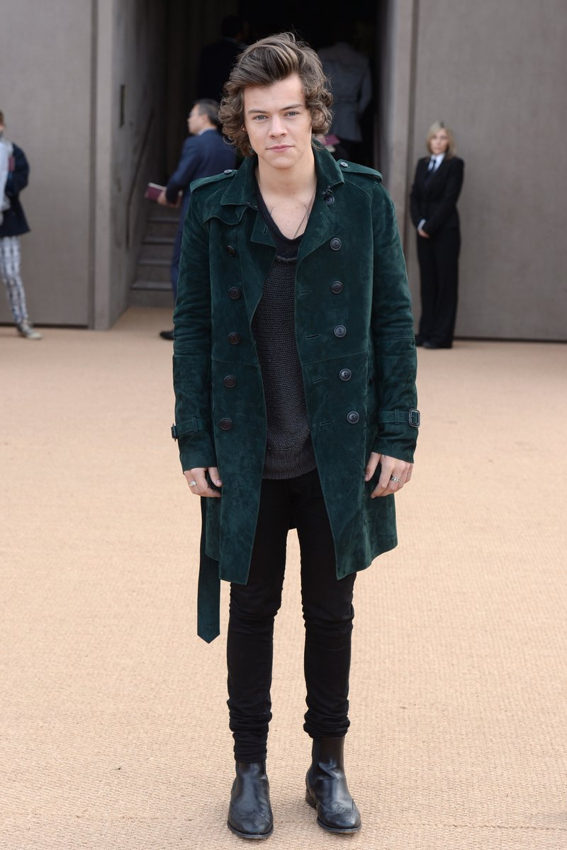 Harry Styles at London Fashion Week