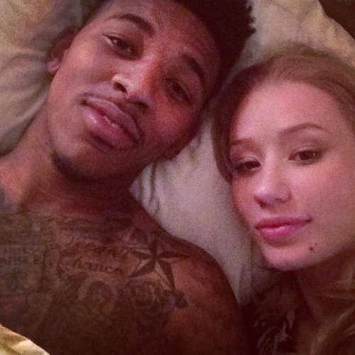 Iggy azalea s impression of nick young drunkenly asking if she d