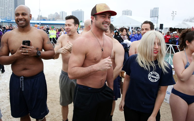 Lady Gaga - Chicago Polar Plunge 12