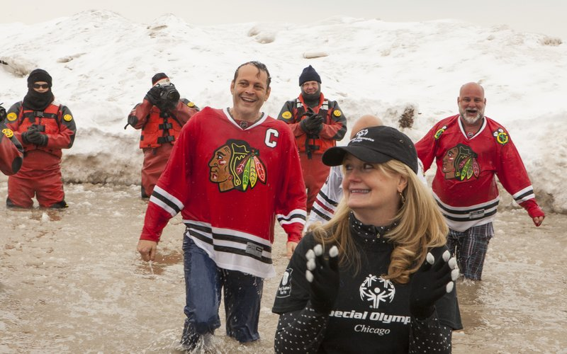 Vince Vaughn - Chicago Polar Plunge