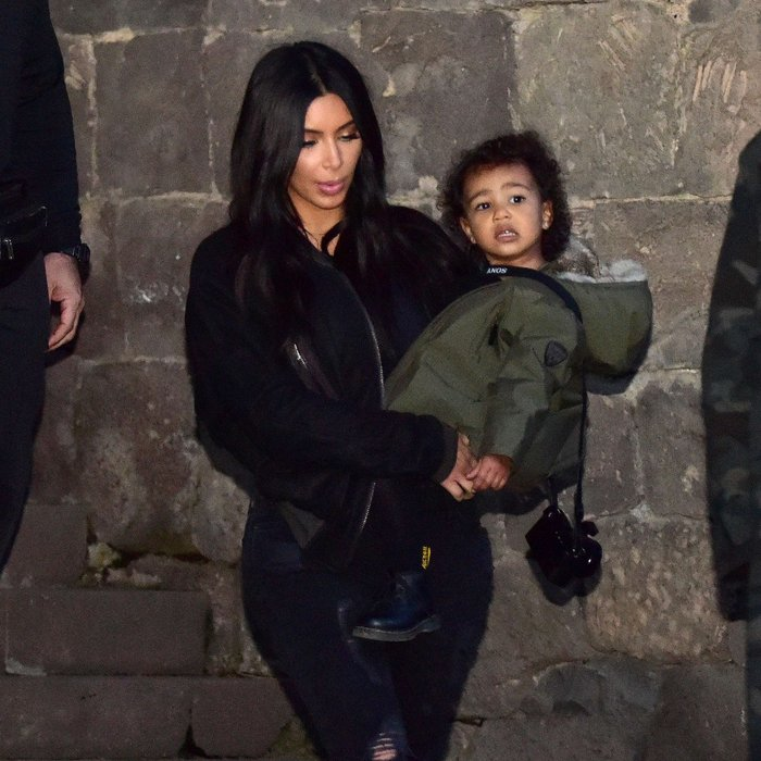 kim kardashian north