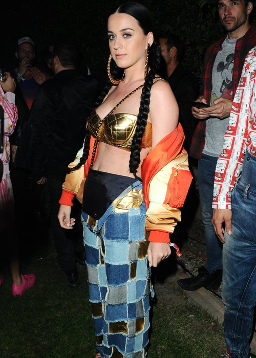 Katy Perry Festival fashion