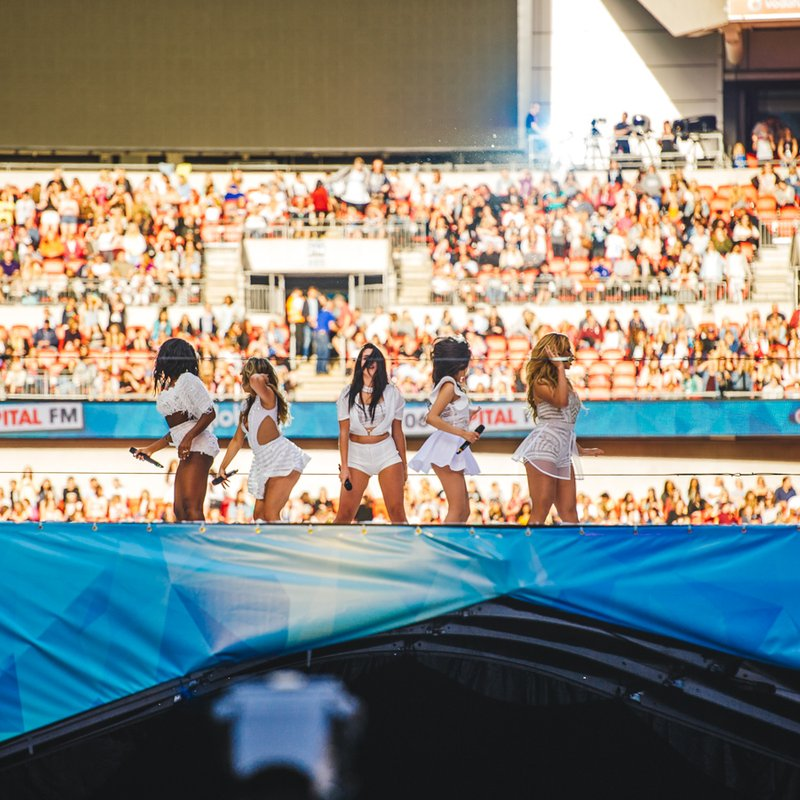 Fifth Harmony at Capital Summertime Ball