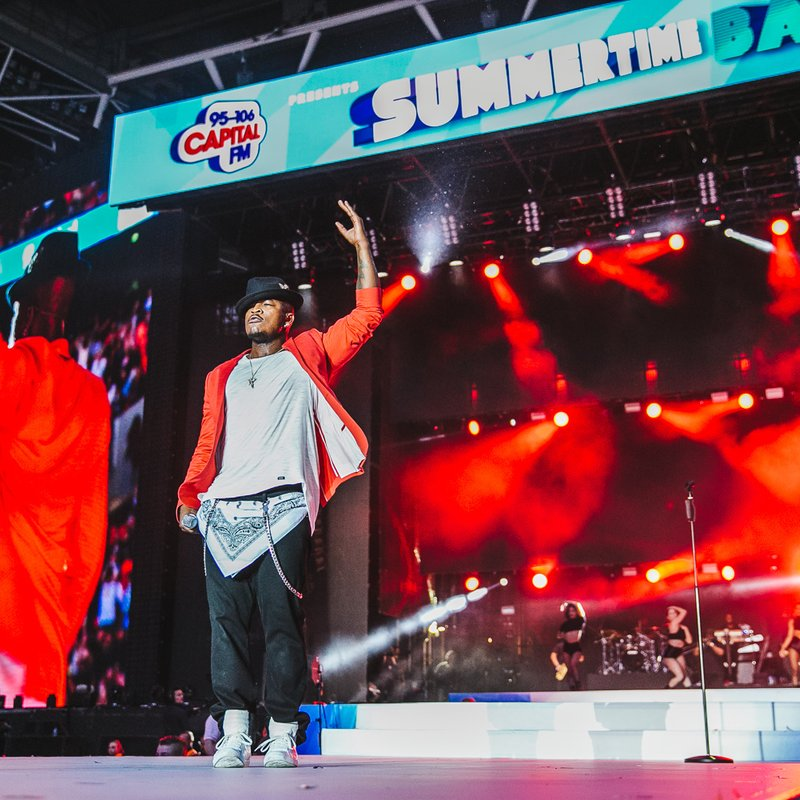 Ne-Yo at Capital Summertime Ball