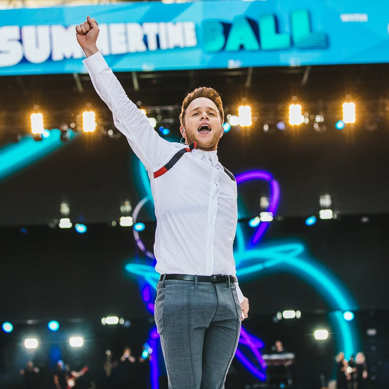 Olly Murs at Capital Summertime Ball