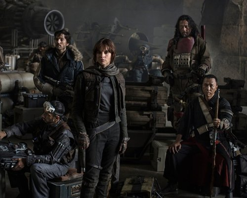 'Star Wars Anthology: Rogue One' cast photo