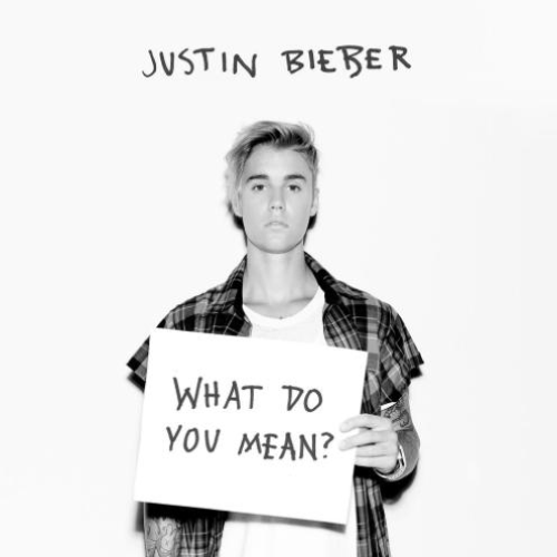 Justin Bieber what do you mean artwork cover