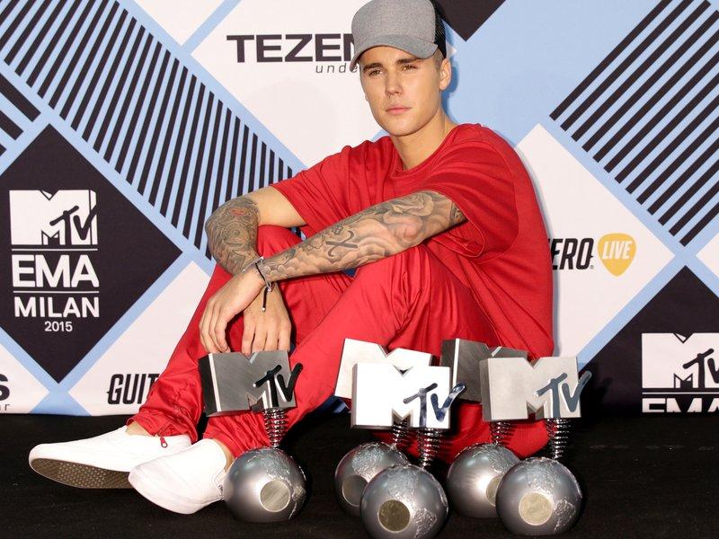 Justin Bieber MTV EMAs 2015