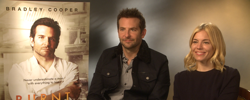 Bradley Cooper and Sienna Miller 'Burnt' Junket