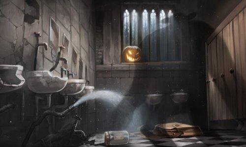 5 Bizarre Occurrences In A Hogwarts Bathroom Heart