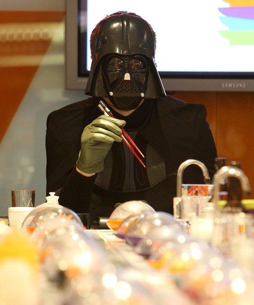 Darth Vader Sushi