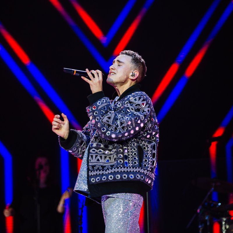 Olly Alexander of Years & Years Jingle Bell Ball 2015