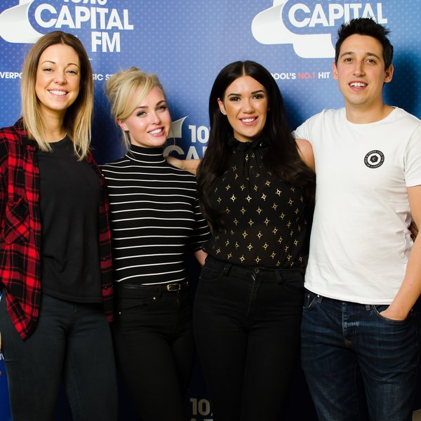 Jorgie Porter with Adam, Gemma & Imogen