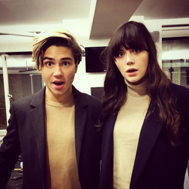George Shelley And Lilah Parsons