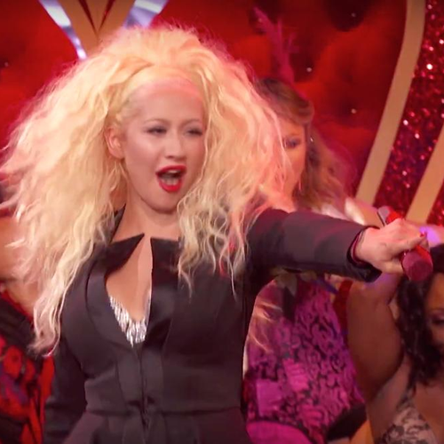 Christina Aguilera Lip Sync Battle