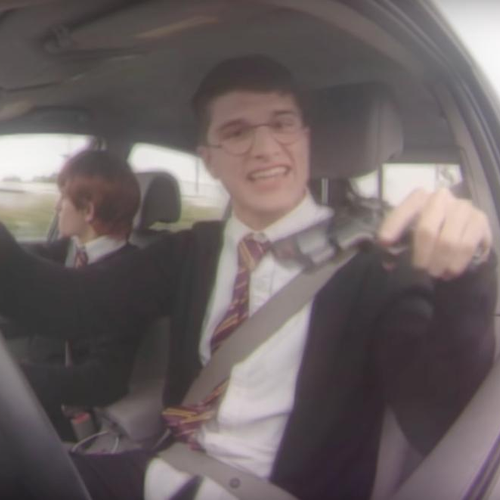 Harry Potter 'Straight Outta Hogwarts' Viral Video