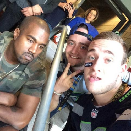 Kanye West Meeting Two Fans