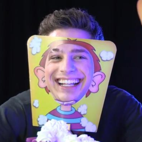 Charlie Puth Celebrity Pie Face with Dave Berry