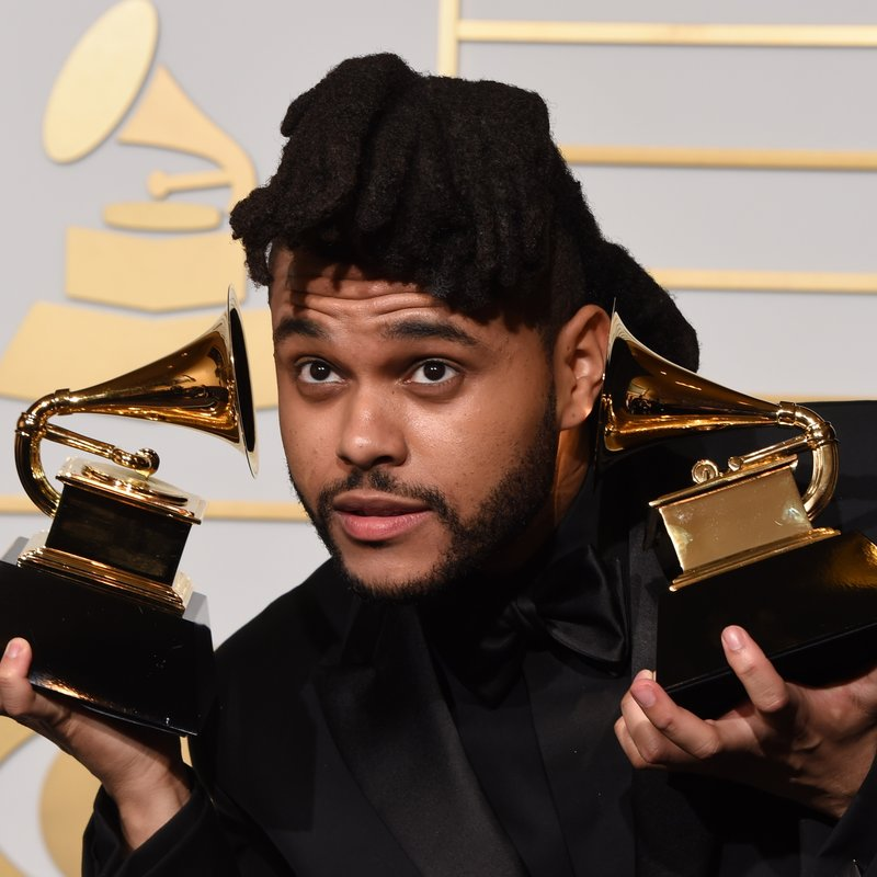 The Weeknd GRAMMYs 2016